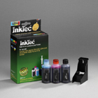 InkTec PHOTO COLOUR REFILL KIT FOR - 18C0031E - (No 31) & Dell J4844 / U5553