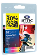 JetTec Compatible Inkjet Cartridge, Specifically tailored inks designed for brilliant photos and fantastic presentations.Unique award winning cartridge design means 30% more pages compared with other 3rd party ink cartridges.