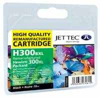HP 300 High Yield Black Ink Cartridge Recycled HP Jettec