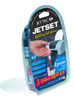 CANON TRI - COLOUR REFILL KIT - Jettec R29