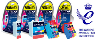 Jettec high quality Epson compatible ink cartridges for Epson inkjet printers