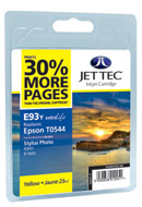 Yellow Compatible R800 Inkjet  Jettec Cartridges 9363YJB