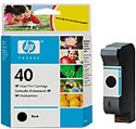 51640 Black Inkjet Cartridge No 40